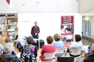Cork Folklore giving a presentation at Holly Hill Library