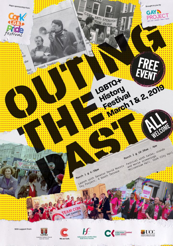 OUTing the Past LGBTQ+ History Festival Poster