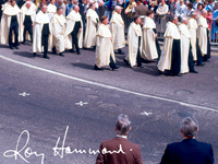 Photograph of Eucharistic Procession by Roy Hammond