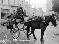 Photograph of Horse and Cart by Roy Hammond thumbnail