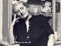 Photograph of Kitty Barry by Roy Hammond