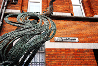 photo of Rory Gallagher monument