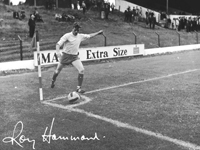 Photograph of Soccer player by Roy Hammond