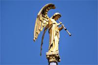 photo of St Finbarr's angel